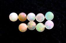 TWO 4mm Round Opal Natural Cabochon Cab Gem Stone Gemstone  EBS7934