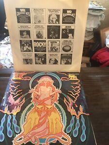 Hawkwind Space Ritual 1973 Vinyl LP UAD 60037.