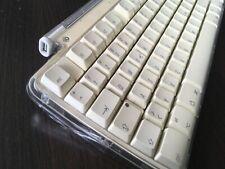 Apple Pro Keyboard M7803 - USB-Tastatur für Mac iMac PowerMac - weiß transparent