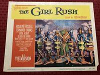 The Girl Rush Original Movie Lobby Card 1955 55/329 11x14
