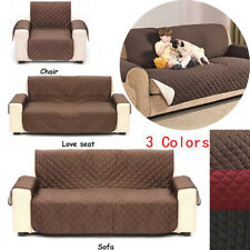 Anti-slip Sofa Protector Cover Couch Chair Slipcover Cushion Reversible For Pet