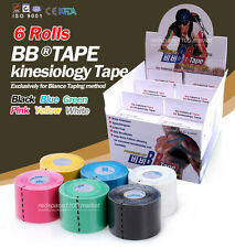 BB TAPE Kinesiolog​y Tape 6 Color 6 Rolls Set 5m Sports Tape kinesiology taping