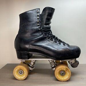 Vintage Riedell RedWing Roller Skates Snyder Plates Fafnir Bearings Powell Wheel