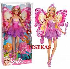 2011 Barbie Faitytale Magic Fashion Flower Fairy Doll Blonde Hair Wand W2966 NEW