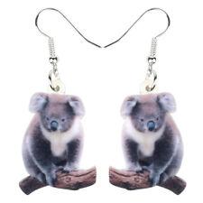 Acrylic Australian Koala Earrings Drop Dangle Fashion Jewelry For Women Gifts