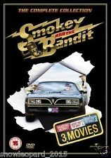 Smokey And The Bandit Trilogy Complete Collection Part 1 2 3 smoky  NEW UK DVD