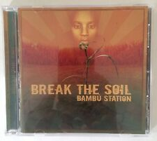 """Bambú Station """"Break The Soil"""" CD Mt. Nebo Records (2006) Roots Reggae NEW Rare!"""