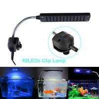 Adjustable Aquarium Fish Tank 48 LED Light Water Plant Grow Lighting Lamp US
