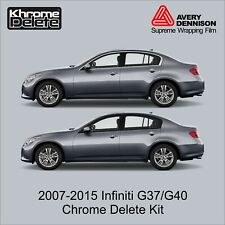 Chrome Delete Kit fitting 2007- 2015 Infiniti G37/G40 Sedan
