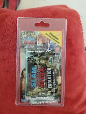 Topps-SLAM ATTAX EVOLUTION 3 Boosters 6 cartes à collectionner. Neuf s/blister