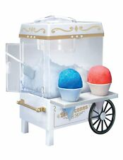 Snow Cone Maker Electric Machine Ice Sno Shaver Crusher Shaved Cart Nostalgia