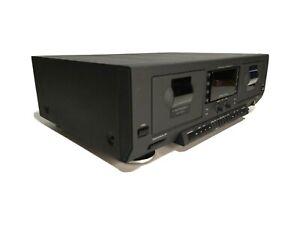 Phillips FC931 Vintage 900 Series Double Auto Reverse Cassette Deck Tested Works