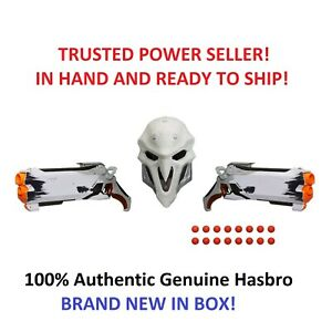 Hasbro NERF Overwatch Reaper (Wight Edition) Collectors Pack 2 Blasters & Mask