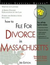 How to File for Divorce in Massachusetts: With For