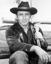 Western TV Show THE VIRGINIAN Glossy 8x10 Photo Poster JAMES DRURY Print