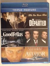 Departed/Goodfellas/Aviat or (Blu-ray Disc, 2012, 3-Disc Set)