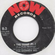 Showmen Inc. - The Tramp Pt. 1 & 2 (Now) Orig. Funk Soul Breaks 45 Brainfreeze