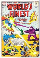 World'S Finest #134 Superman! Batman! Green Arrow! Dc Comic Book ~ Vg