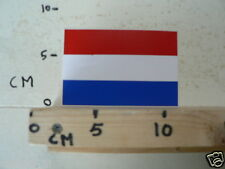 STICKER,DECAL NEDERLANDSE VLAG RECHTHOEK , DUTCH FLAG
