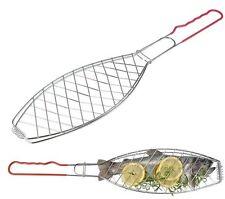 Fisch-Wender Fisch-Griller 58 cm Fischbräter Fischgrill Fisch-Grill-Gitter Fish