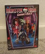 Monster High: Ghouls Rule (DVD, 2012) ~ NEW/FACTORY SEALED
