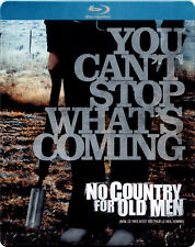 No Country for Old Men - Limited Edition Steelbook [Blu-ray] New and Sealed!