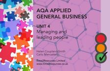 AQA General Applied Unit 4 Managing & Leading People Revision Guide