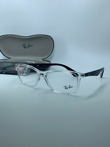 NEW Authentic Ray Ban EYEGLASSES CLEAR RB7047 5943 RX7047 5943 56-17 FAST SHIP