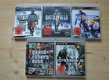 PS3 - Battlefield: Bad Company 2 + 3 + 4 + GTA IV + Crysis 2