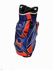 """Easy Play"" Golf Cart Bag, Blue/Orange"