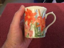 Lenox 1995 Flower Blossom Mug Collection Mug Day Lily by Suzanne Clee