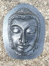 buddha buddah face plastic mold cement plaster concrete mould