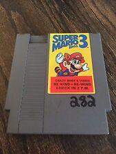 Super Mario Bros. 3 Original Nintendo NES Game Cart Works NE2