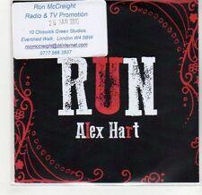(GF655) Alex Hart, Run - 2015 DJ CD
