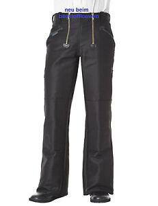 Pionier Zunfthose schwarz mit Schlag, Größe 52, Arbeitshose Handwerkerhose 304
