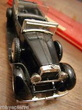 Automobilina modellino auto car toy FIAT 525N 525 N SOLIDO 1929 NERA per ricambi