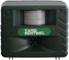 NEW Yard Sentinel - Electronic Pest & Animal Control Repeller with Motion Sensor