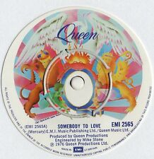 """Queen - Somebody To Love 7"""" Single 1976"""