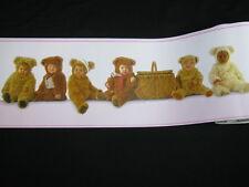New Anne Geddes Baby Bear Wallpaper Border 33 feet RARE