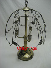 Touch lamp 24 inch Frame top and bottom base only Brush gold