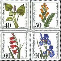 Berlin (Ouest) 650-653 (édition complète) oblitéré 1981 timbre de complaisance