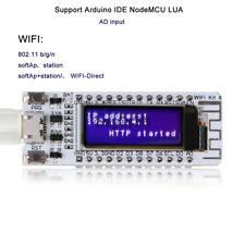 "ESP8266 WIFI  0.91"" Inch OLED Display Development Board NodeMcu For Arduino UK"