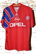 Vintage Adidas Equipment Trikot FC Bayern München Saison 1992/93 Opel Gr. S