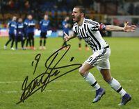 Foto Autografo Calcio Leonardo Bonucci - Asta di Beneficenza Soccer Coa Signed