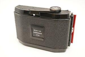 [EXC+++++]Horseman 8EXP 120 Roll Film Back Holder 6x9 For 4x5 From Japan