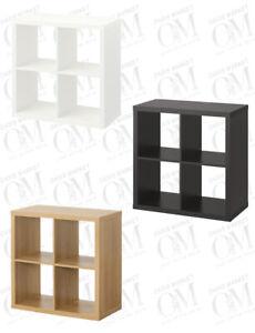 IKEA KALLAX 4 Shelf Shelving Unit Bookcase Storage Display Unit Rack 77x77 cm