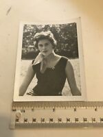 Photograph. Vintage. Social History. 1950's Attractive Young Woman.