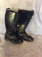 Dr Martens 20 eye / hole black boots size 7