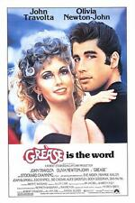 """GREASE"" Movie Poster [Licensed-NEW-USA] 27x40"" Theater Size (Travolta) 1978"