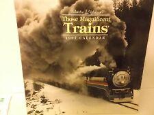 Those Maginificent Trains - 1997 Calendar